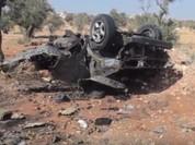 Video: Đánh bom kinh hoàng tan xác thủ lĩnh phiến quân Syria