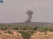 Không quân Nga, Syria không kích dữ dội tỉnh Idlib (video)