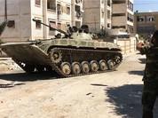 Video chiến sự Syria: Quân chính phủ truy diệt các tay súng thánh chiến