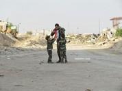 Video chiến sự Syria: Bắn tỉa chiến binh khủng bố bằng pháo 130 mm