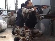 Video chiến sự Syria: Xe tăng bắn tỉa phiến quân ở Aleppo, bẫy mìn hốt gọn tốp khủng bố