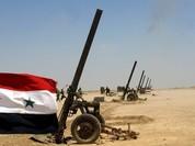 Chiến sự Syria: Súng cối khổng lồ xung trận diệt khủng bố (video)