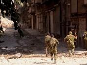 Quân đội Syria, Palestine tấn công dữ dội hướng tây Aleppo