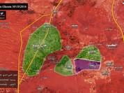 Quân đội Syria bao vây phong tỏa thị trấn then chốt Tây Ghouta