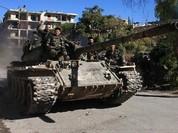Chùm video chiến sự Syria: Đánh sập hầm ngầm phiến quân, vây hãm cứ điểm then chốt