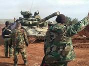 Video chiến sự: Quân đội Syria trút thịnh nộ vào phiến quân ở Aleppo