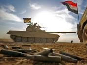 Video chiến sự: Quân đội Syria phóng tên lửa thiêu rụi xe bom IS