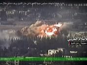 Chùm video chiến sự Aleppo: Su-34 Nga dội lửa phiến quân, đánh sập hầm ngầm khủng bố