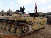 Chùm video chiến sự: Binh sĩ Syria truy diệt khủng bố, không quân dội bom ISIS