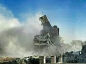 Video chiến sự: Quân đội Syria đấu pháo với phe thánh chiến