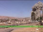 Video chiến sự Syria: Hàng chục tay súng thánh chiến bị chôn sống dưới hầm ngầm