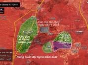 Quân đội Syria thít chặt thị trấn phiến quân ở Tây Ghouta