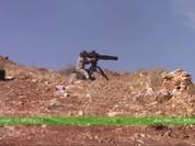 Video: Binh sĩ Syria phóng tên lửa thiêu cháy xe vũ khí phiến quân