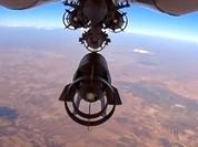 Không quân Nga trút kinh hoàng xuống phiến quân ở Aleppo (video)