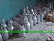Quân đội Syria thu giữ số lượng lớn khối nổ tự chế dành cho xe đánh bom tự sát - VIDEO