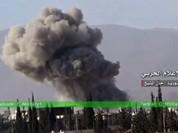 Quân đội Syria tấn công dữ dội khu vực ngoại vi Damascus (video)
