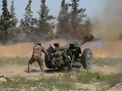 Quân đội Syria tiếp tục đánh sâu vào thị trấn then chốt Tây Ghouta