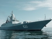 Chiến hạm Nga đấu tên lửa trên biển Baltic (video)