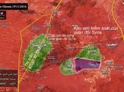 Quân đội Syria san phẳng căn cứ, dồn phiến quân ở Tây Ghouta vào cửa tử