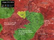 Quân đội Syria, Palestine tấn công các quận phía đông Aleppo