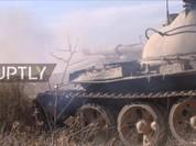 Video chiến sự Syria: Quân chính phủ tấn công dữ dội đông Aleppo