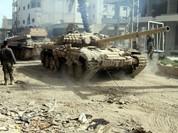 Video: Xe tăng quân đội Syria bắn tan xe phiến quân IS