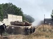 Quân đội Syria phá vỡ tuyến phòng thủ thị trấn phiến quân ở ngoại vi Damascus