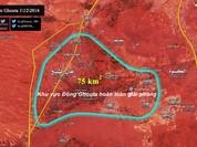 """Quân đội Syria """"dọn sạch"""" phiến quân vùng ngoại ô Damascus, dập tắt ảo vọng lật đổ  (video)"""
