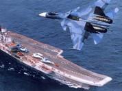 Tàu sân bay Nga xuất kích Su-33 tấn công phiến quân Syria