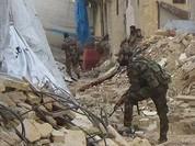 Quân đội Syria chia cắt lực lượng thánh chiến trong khu phố cổ Aleppo - VIDEO