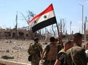 Quân đội Syria chiếm thêm 4 quận và nhiều khu phố ở Aleppo (video)
