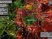 """Video: """"Hổ Syria"""", Hezbollah ồ ạt dội lửa bức hàng phiến quân Aleppo"""