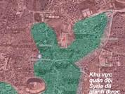 Video chiến sự Syria: Những trận chiến khốc liệt trên các chiến trường Syria
