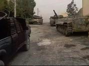 Quân đội Syria tấn công, chuẩn bị quét sạch phiến quân ở Đông Ghouta (video)