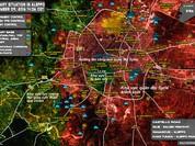 Quân đội Syria tiếp tục cuộc tấn công giải phóng Aleppo (video)