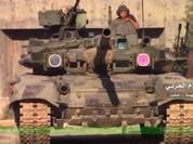 Video chiến sự Aleppo: Tăng T-90 khai hỏa, phiến quân thánh chiến tan xác