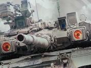 """Video: """"Hổ Syria"""" cùng xe tăng T-90 xung trận"""