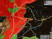 Chiến sự Syria: IS tấn công ác liệt, dốc sức chiếm sân bay chiến lược
