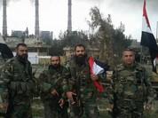 Lực lượng Tiger hành quân cơ động về chiến trường Palmyra