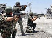 Quân đội Syria tập kích dữ dội phiến quân, bắn hạ 5 UAV