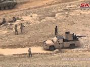 Quân đội Syria phản kích, hàng loạt chiến binh IS bị diệt (video)
