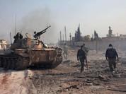 Chiến sự Syria: Quân chính phủ bức hàng phiến quân ngoại vi Damascus (video)