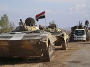 Quân đội Syria công kích dồn phiến quân ngoại ô Damascus vào cửa tử