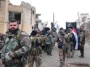 Vệ binh Syria đánh chiếm căn cứ ngoại vi Damascus mở màn năm 2017