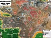Quân đội Syria giải phóng 6 làng từ tay phiến quân ở ngoại vi Damascus