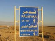 Trận chiến Palmyra: Quân đội Syria đẩy nhanh kế hoạch tấn công trước thảm họa nhân đạo