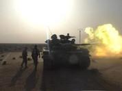 Quân đội Syria ác chiến quanh sân bay T-4, diệt nhiều tay súng IS (video)