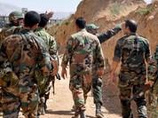 Quân đội Syria đột phá tuyến phòng thủ phiến quân chiếm giữ nguồn nước Damascus