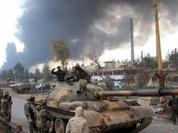 Quân đội Syria tấn công ác liệt giải phóng nguồn nước cho Damascus