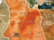 Quân đội Syria chuyển hướng tấn công về phía tỉnh Raqqa, Syria